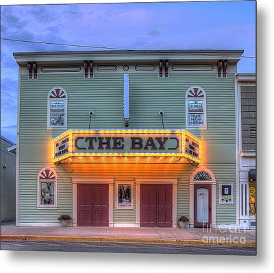 Bay Theatre In Sutton's Bay Metal Print by Twenty Two North Photography