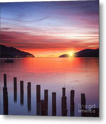 Beautiful Sunrise Metal Print by Colin and Linda McKie