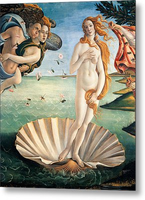 Birth Of Venus Metal Print by Sandro Botticelli