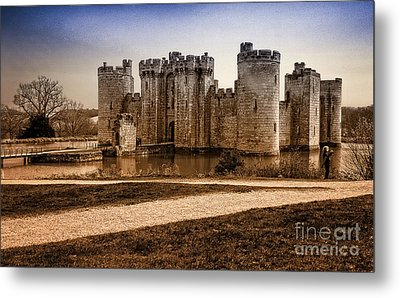 Bodiam Castle Metal Print by Donald Davis