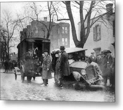 Bootlegging And Prohibition Metal Print by Everett