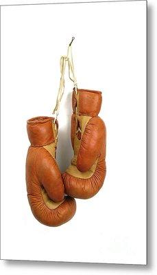 Boxing Gloves Metal Print by Bernard Jaubert