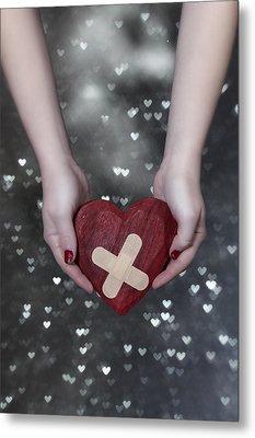 Broken Heart Metal Print by Joana Kruse