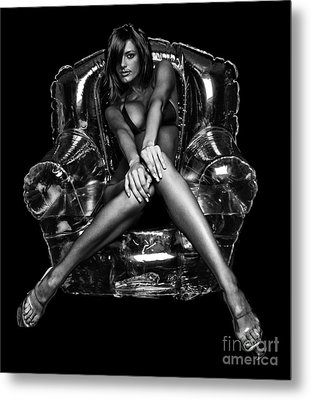 Bubble Chair Metal Print by Jt PhotoDesign