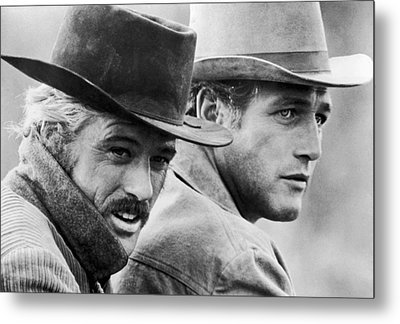Butch Cassidy And The Sundance Kid Metal Print by Nomad Art
