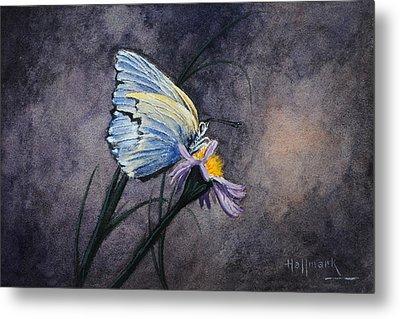 Butterfly Metal Print by Bob Hallmark