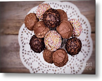 Cake Pops Metal Print by Jane Rix