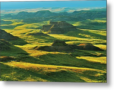 Canada, Saskatchewan, Grasslands Metal Print by Jaynes Gallery