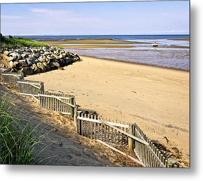 Cape Cod Bay Morning Metal Print by Frank Winters