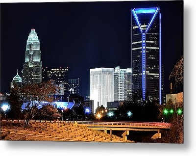 Charlotte Towers Metal Print by Frozen in Time Fine Art Photography