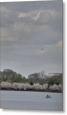 Cherry Blossoms - Washington Dc - 011319 Metal Print by DC Photographer