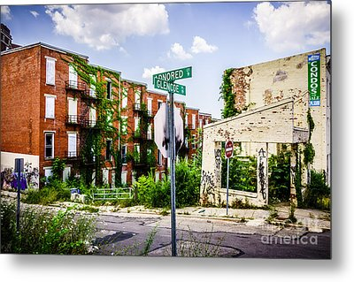 Cincinnati Glencoe-auburn Place Picture Metal Print by Paul Velgos