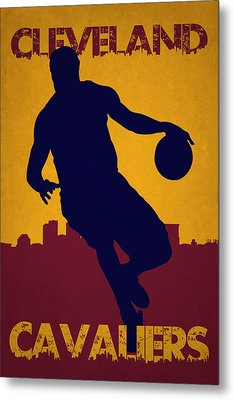Cleveland Cavaliers Lebron James Metal Print by Joe Hamilton