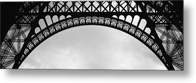 Close Up Of Eiffel Tower, Paris, France Metal Print by Panoramic Images