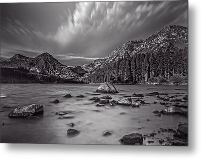Cloud Movement Over Emerald Bay Metal Print by Marc Crumpler