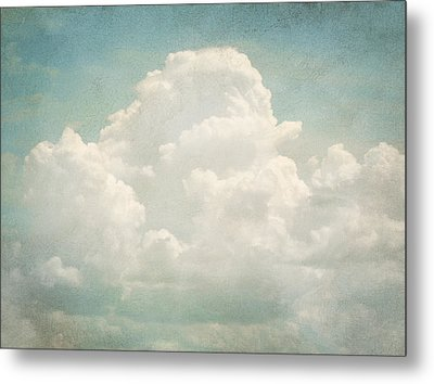 Cloud Series 3 Of 6 Metal Print by Brett Pfister