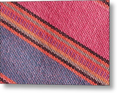 Colorful Cloth Metal Print by Tom Gowanlock