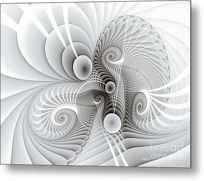Connections Metal Print by Jutta Maria Pusl