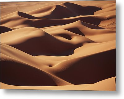 Curves Metal Print by Ivan Slosar