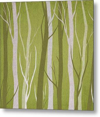 Dark Forest Metal Print by Aged Pixel