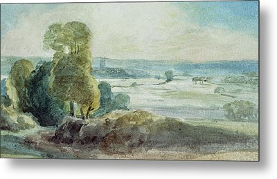 Dedham Vale Metal Print by John Constable