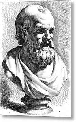 Democritus (c460-c370 B Metal Print by Granger