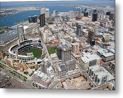 Downtown San Diego Metal Print by Bill Cobb