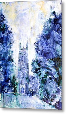 Duke Chapel Metal Print by Ryan Fox