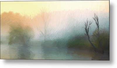 Early In The Morning Metal Print by Steve K