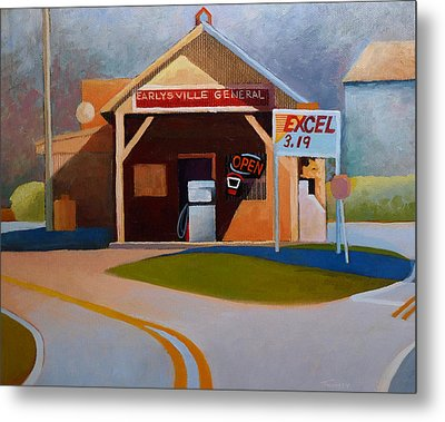Earlysville General Store No. 2 Metal Print by Catherine Twomey