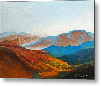 East Fall Blue Ridge Mountains 2 Metal Print by Catherine Twomey