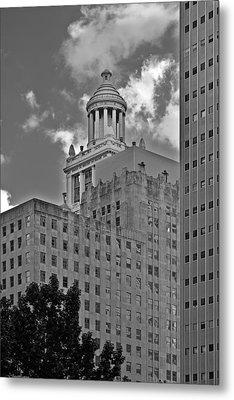 Esperson Buildings Houston Tx Metal Print by Christine Till