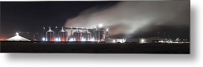 Ethanol Plant In Watertown Metal Print by Dung Ma