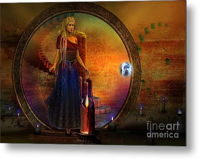 Evermore Metal Print by Shadowlea Is