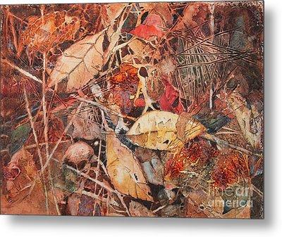 Fallen Metal Print by Elizabeth Carr