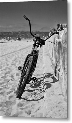 Fat Tire Metal Print by Peter Tellone