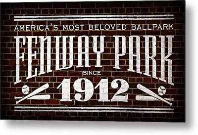 Fenway Park Metal Print by Stephen Stookey