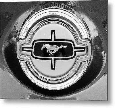 Ford Mustang Gas Cap Metal Print by Jill Reger
