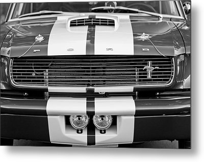 Ford Mustang Grille Emblem Metal Print by Jill Reger