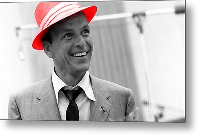 Frank Sinatra Metal Print by Marvin Blaine