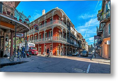 French Quarter Afternoon Metal Print by Steve Harrington