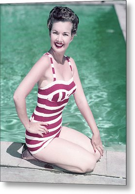 Gale Storm Metal Print by Silver Screen