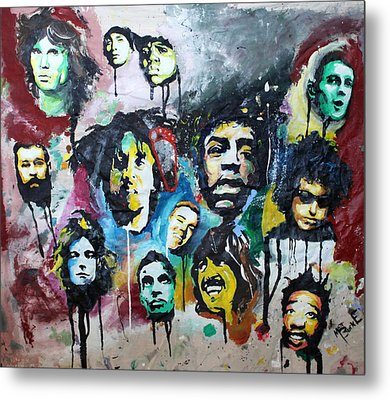 Genre Greats Metal Print by Matt Burke