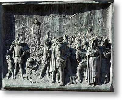 Giordano Bruno Metal Print by Ken Welsh