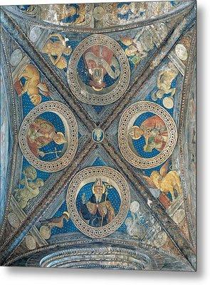 Giovan Pietro Da Cemmo, St Ambrose, St Metal Print by Everett