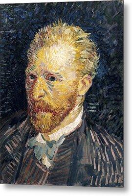 Gogh, Vincent Van 1853-1890. Self Metal Print by Everett