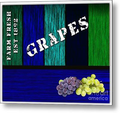 Grape Farm Metal Print by Marvin Blaine