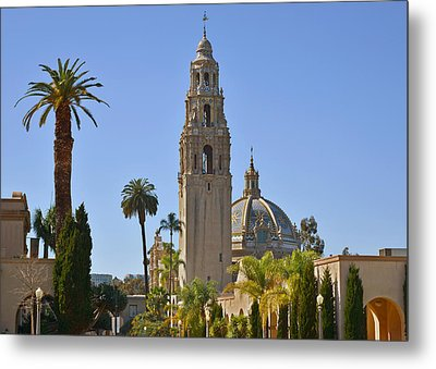 Balboa Park - The Soul Of San Diego Metal Print by Christine Till