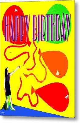 Happy Birthday 91 Metal Print by Patrick J Murphy