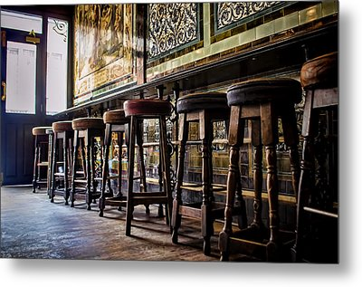 Have A Seat Metal Print by Heather Applegate